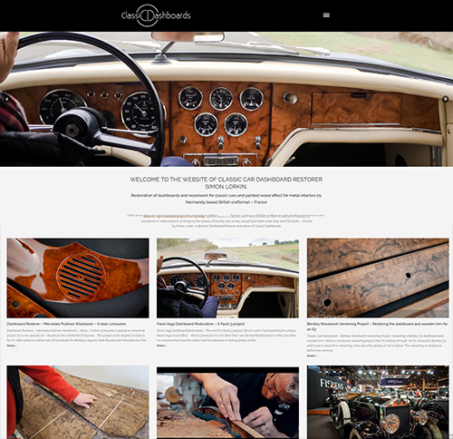 Restauration de Tableau de bord - Classic Dashboards - Simon Lorkin
